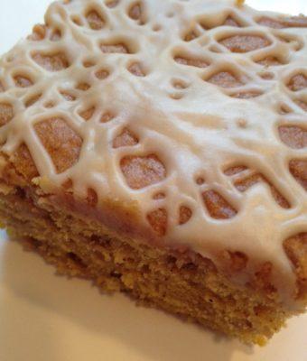 Pumpkin Caramel Toffee Cake