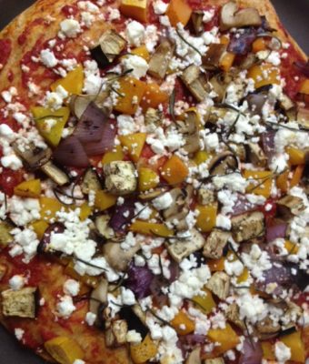 Veggie Harvest Pizza
