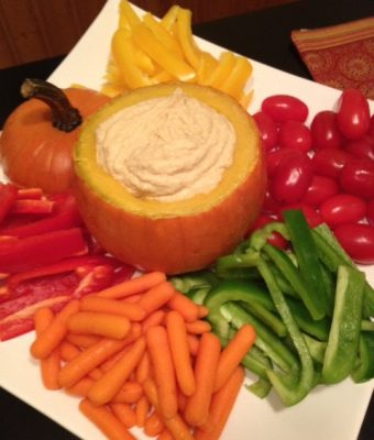 Pumpkin Dipping Bowl