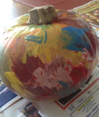 Pumpkin Paint Fun!