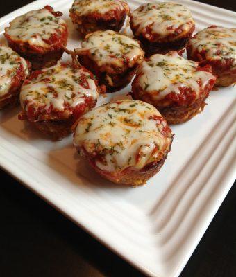 Zucchini Parmesan Mini Turkeyloaves