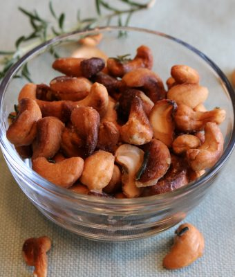 Sweet & Spicy Cashews