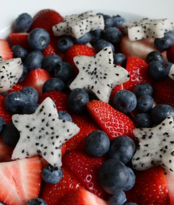 """GO TEAM USA!"" Fruit Salad"