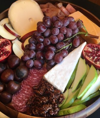 Fall Cheese & Fruit Platter